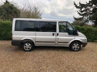 FORD TRANSIT TOURNEO 300S 8 SEATER FSH (silver) 2002