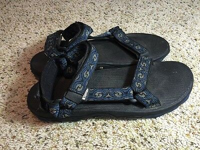 bb8104a23 TEVA Sandals Men s size 12 Black Blue Ked