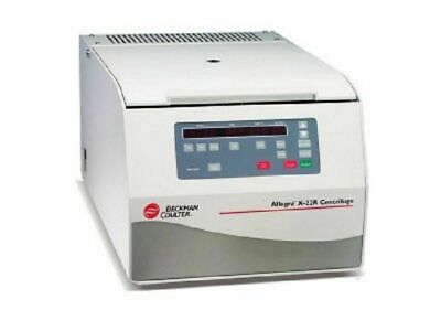 Beckman Coulter Allegra X-22r Centrifuge Wfixed Angle Conical Tube Rotor