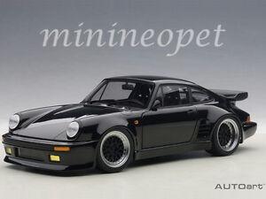 autoart 78156 porsche 911 930 turbo wangan midnight 118 model car black bird - Porsche 911 Turbo Black 2000
