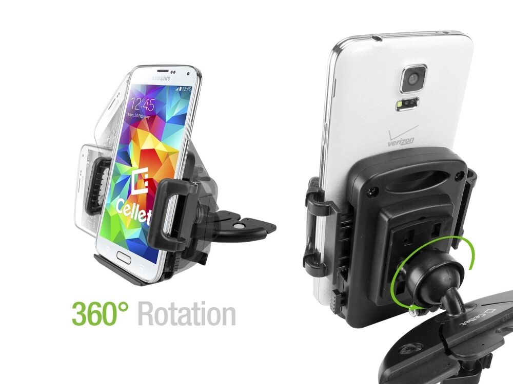 CD Slot Universal Phone Holder Mount for Smartphones up to 4