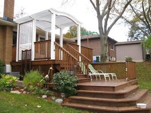 DECKS,  ADDITIONS, RENOVATIONS, & WD. FENCING: 35 yrs experience Belleville Belleville Area image 2