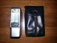 New OS Original Canon Canolite D Flash w/ Carrying Case,Warranty