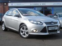 2012 Ford Focus Zetec TDCI 5 Door Hatchback In Silver