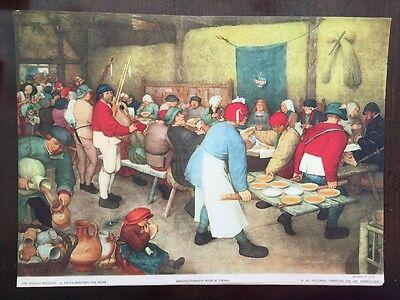The Peasant Wedding by Pieter Bruegel (Brueghel) Kunsthistorisches Museum Vienna ()