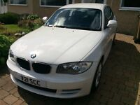 Immaculate BMW 120i ES Coupe for Sale - 2 owners, full service history, Alpine white