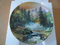 """Mountain Hideaway"" Collector Plate"