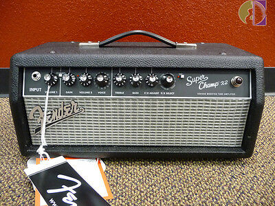 Fender Super Champ X2 15-Watt Electric Guitar Amplifier Head, Free Shipping USA