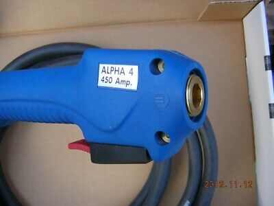 Binzel Alpha 450 Amp 15 Ft Bicox Cable Less Neck To Euro Feeder End