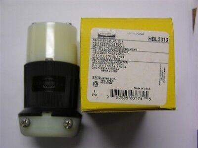 Hubbell Hbl2313 2p3w 20a 125v L5-20r Twist-lock Connector Body