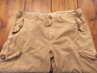 Men Ralph Lauren Polo Cargo GS Combat Pant 44B 32L Polo Beige Trousers Classic