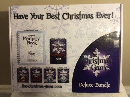 Christmas Game Deluxe Bundle Board Game Holiday