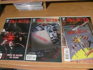 The Boy's Completed Series Issues #1-72 Garth Ennis Butcher
