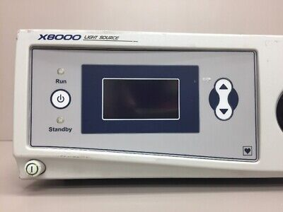 Stryker X8000 Xenon Endoscope Light Source 220-200-000 283 Hours W Conmed C3278