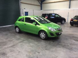 2013 Vauxhall corsa 1.2cc 1 owner low mileage pristine guaranteed cheapest in country