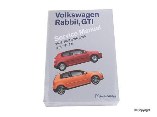 Repair Manual-Bentley Repair Manual WD EXPRESS fits 06-09 VW Rabbit