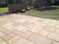 block pavers lay patios , built walls , fencing , turfing ect
