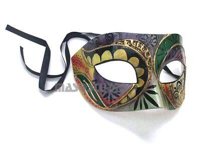 HOT Mens Masquerade Ball Eye Mask Costume Party Venetian Mardi Gra Make up Dance - Venetian Mask Makeup