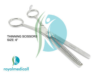"""Professional Hairdressing Scissors Hair Cutting Thinning Shears 6"""""""