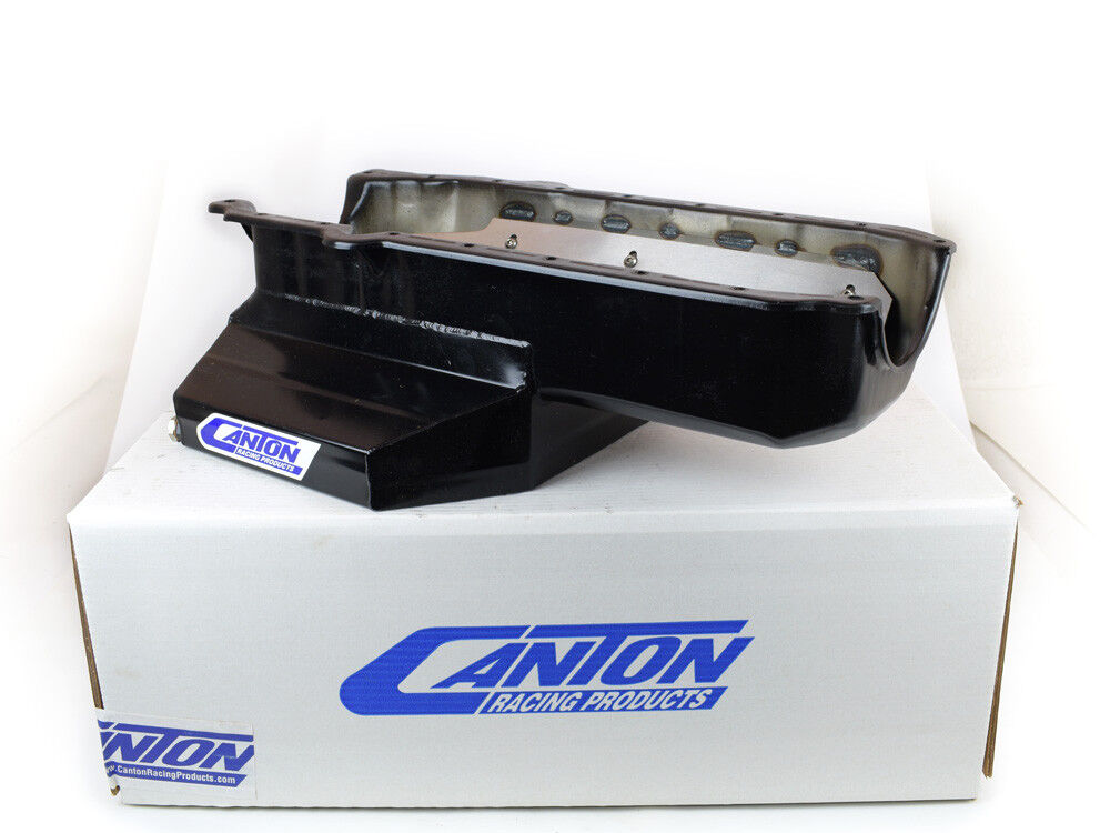 Small Chevy for Big Block Pump in 7 CT Pan Canton Racing 20-100 Oil Pickup
