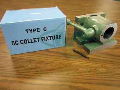 5c Collet Fixture Type C 5c Manual Collet Fixture Hv Part 837-ecn--new