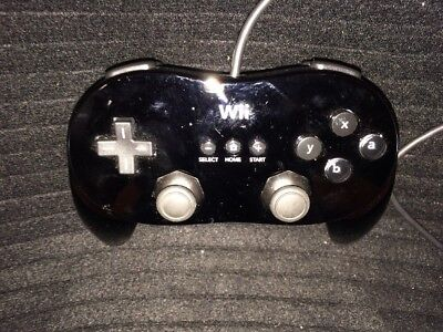 Nintendo Wii Classic Pro Controller - Black - from Japan