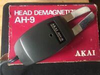 Akai AH-9 reel to reel recorder head demagnetiser