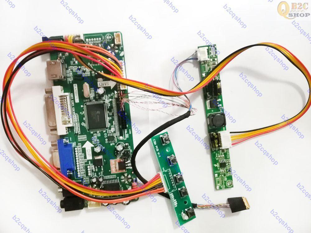 HDMI+DVI+VGA+Audio LCD Controller Driver Board Kit for 1280X800 LP133WX3-TLA6