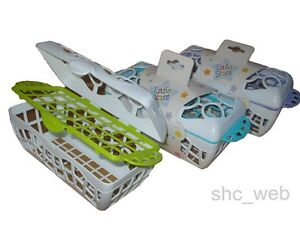 Dishwasher Basket for Accessories and Utensils (Baby Bottle Teats Dummies)