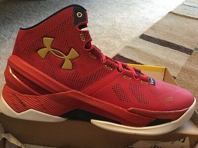 """curry two inscribed floor general size 11 shoe W/ I Can Do All Things"""""""