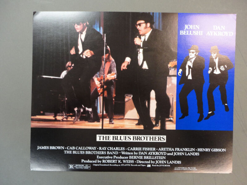 """ The Blues Brothers ""/ 11""x14"" Lobby Card Set, MINT CONDITION"