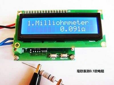 0.001120 Milliohm Meter Low Resistance Tester Ohmmeter