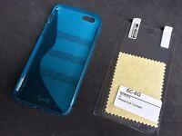 Blue Anti-Slip Silicone Rubber TPU Case cover Apple iPhone 6/6S (NEW)