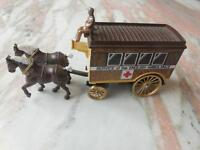 Vintage Horse Drawn Red Cross English Ambulance