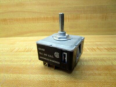 Edwin Wiegand Co Ch-252 Switch Ch252