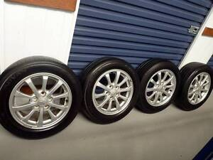 Lancer -16 inch alloy wheels + tyres - fit Corolla,Camry,Mazda 3 Newtown Inner Sydney Preview