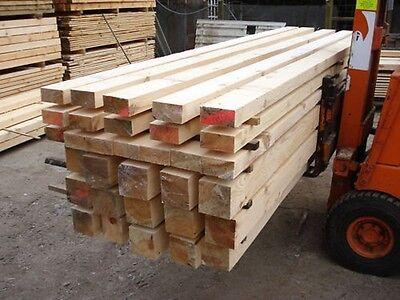 Kieferschnittholz für ein Carport Flachdach 3x6m NEU