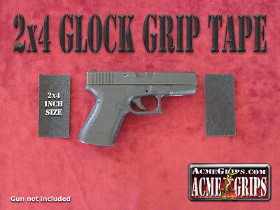 Glock Pistol Grip Tape 2x4 Rubberized - made by 3M - better deal - lower