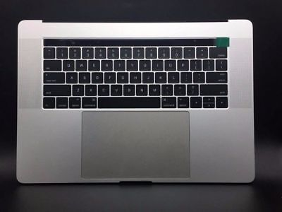 "MacBook Pro A1707 15"" 2016 2017 Top Gray Case Battery Keyboard Trackpad touch"