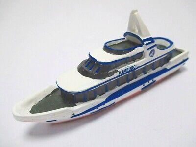 Schiff Hamburg Hafenrundfahrt,12 cm Polyresin Collector Modell