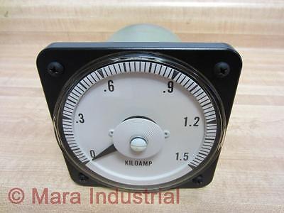 General Electric 103131lsvc Meter Range 0-1.5 Ac Kiloamp