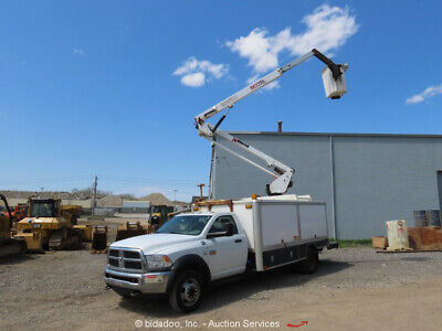 2012 Dodge Ram 5500 40 9 Bucket Truck Aerial Boom Cummins Bidadoo -repair