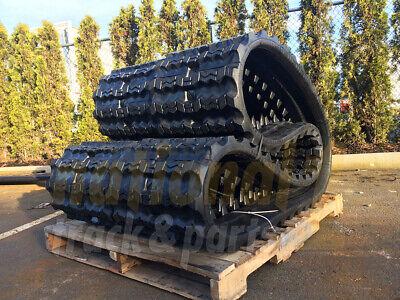 2 Rubber Tracks - Fits Bobcat T830 T870 450x86x58 Zig Zag Tread