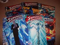 SUPERMAN UNCHAINED- ISSUES 1- 6