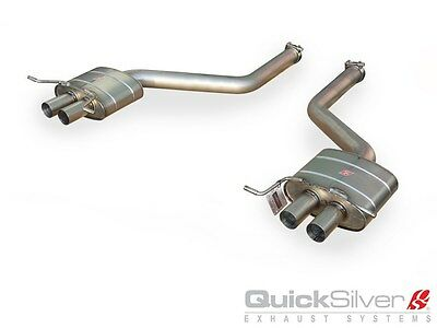 Quicksilver Exhaust System - Quicksilver Bentley W12 Continental GT and GTC Titanium Sport Rear Exhaust