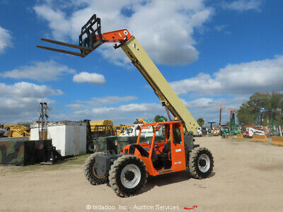 2011 Jlg G9-43a 43 9000lb Telescopic Reach Fork Lift Telehandler 9k Aux Repair