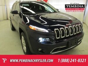 2014 Jeep Cherokee Limited *VENTED SEATS*NAV*LEATHER INTERIOR*