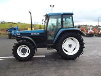 1997 New Holland 7840 SLE, Turbo, Air Con, 520/70r38's