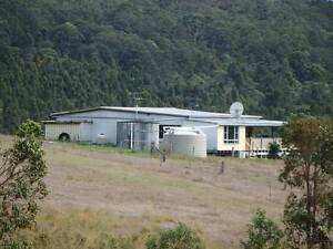 12 ACRE FARM & CREEK - RENT - OR BUY WITH SOME VENDOR FINANCE. Bottle Creek Kyogle Area Preview