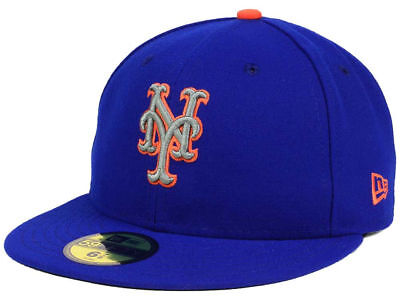 New Era New York Mets ALT 2 59Fifty Fitted Hat (Light Royal) MLB (New York Mets Hats)
